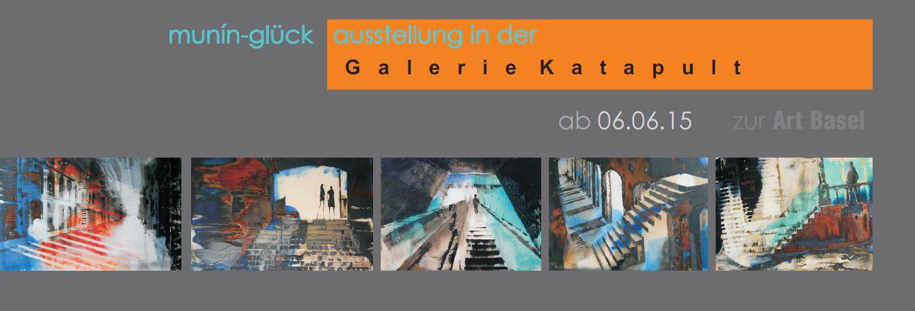 Ausstellung Galerie Katapult ab 06.06.2015
