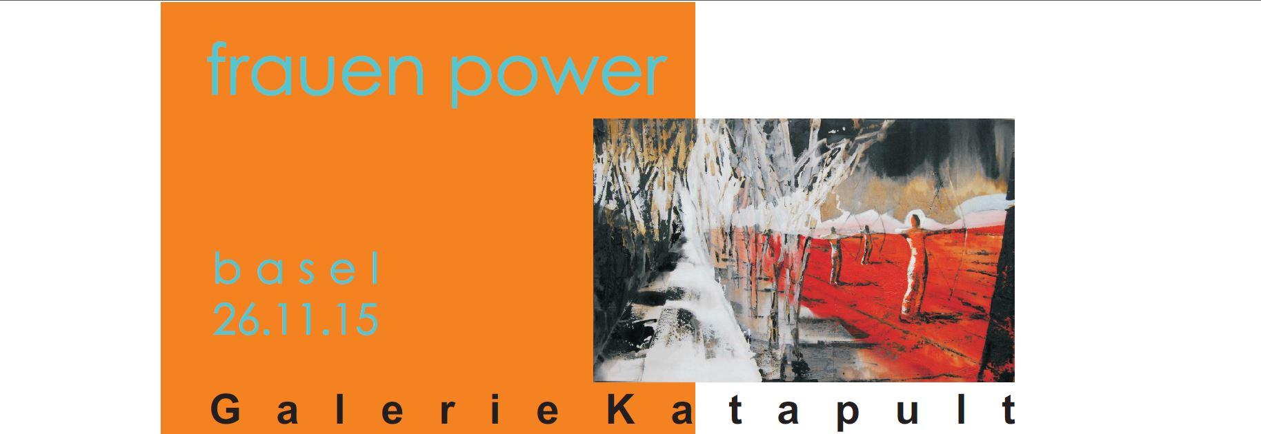 Ausstellung Galerie Katapult Frauenpower